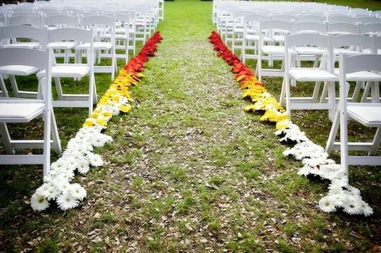 Wedding trend: effetto ombre