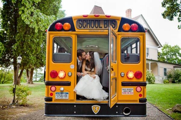 matrimonio a tema scuola
