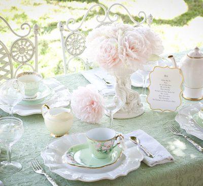 Un tè vintage per un addio al nubilato