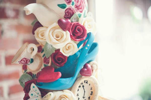 matrimonio a tema alice nel paese delle meraviglie
