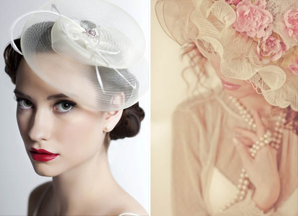 cappello come alternativa al velo da sposa