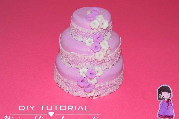 {Tutorial} Mini wedding cake magnetica