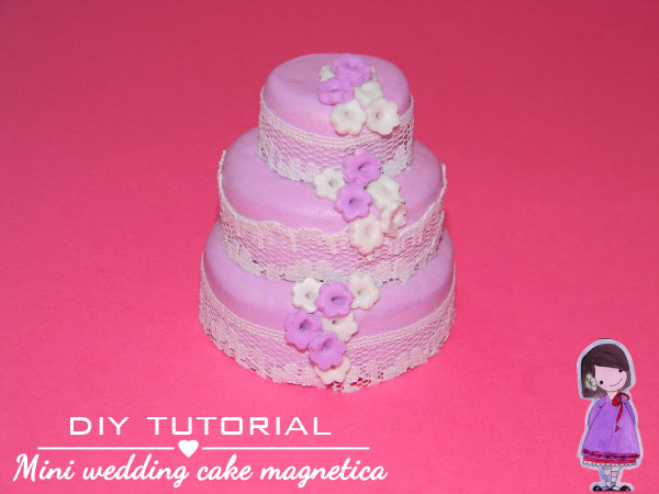 tutorial wedding cake fimo cernit
