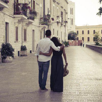 Un'engagement session a Bari: Fabiola e Francesco