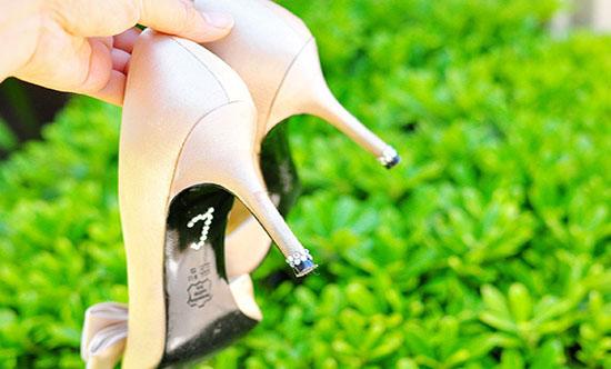 {DIY} Pimp my wedding shoes – seconda parte