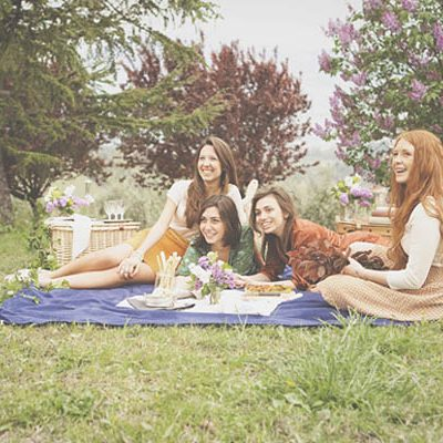 Un picnic ispirato a Piccole Donne