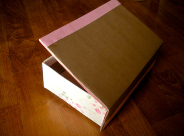 tutorial scatola porta confetti shabby chic fai da te