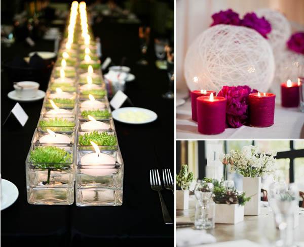 Matrimonio Rustico Tavolo : Centrotavola che adorerete