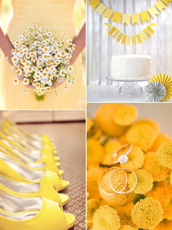 matrimonio in giallo