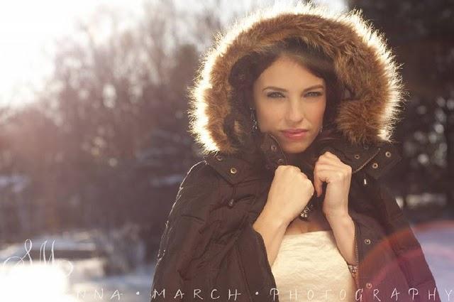 sposa invernale