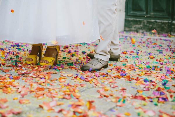 Un matrimonio in giallo e pois - foto di Cinzia Bruschini (18)