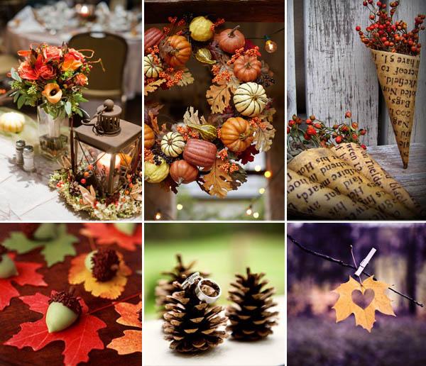 Matrimonio Tema Autunno : Cinque idee per un matrimonio in autunno