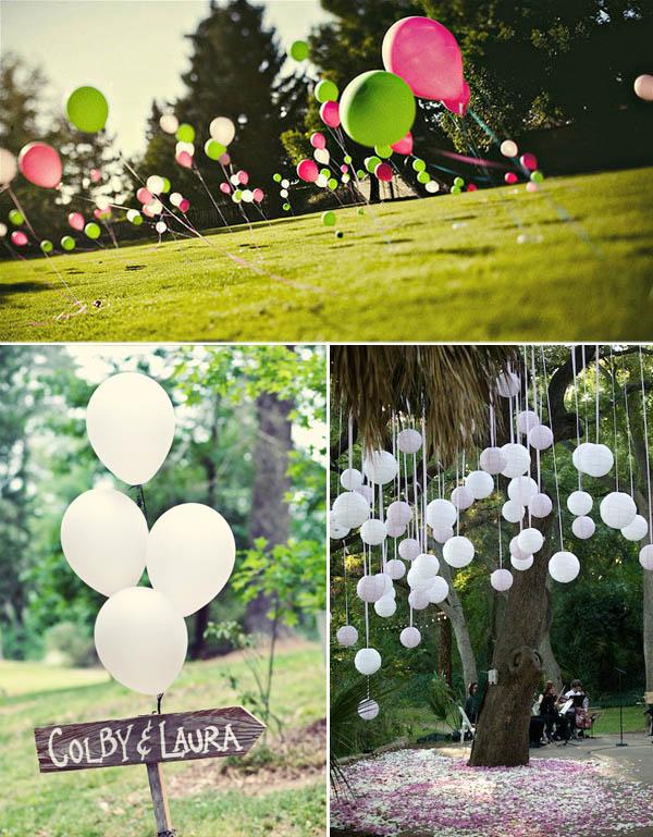palloncini matrimoni
