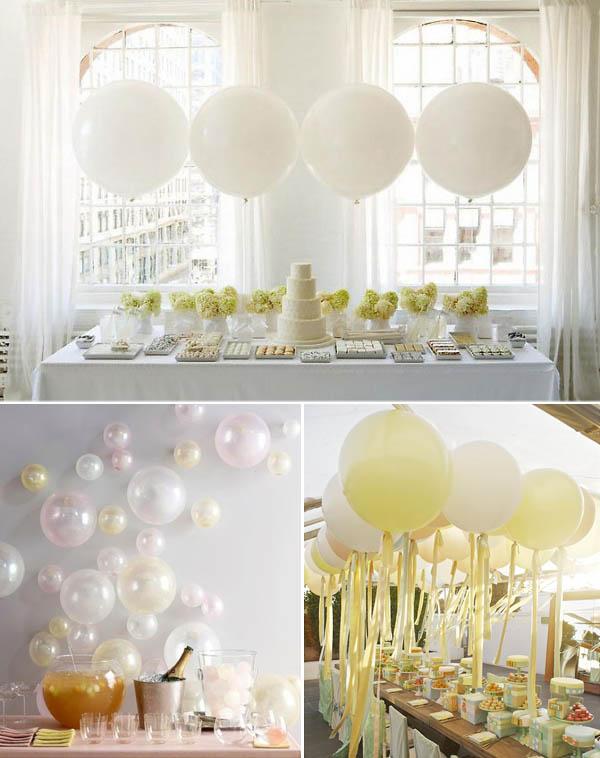 Decorazioni non floreali palloncini - Composizione palloncini da tavolo ...