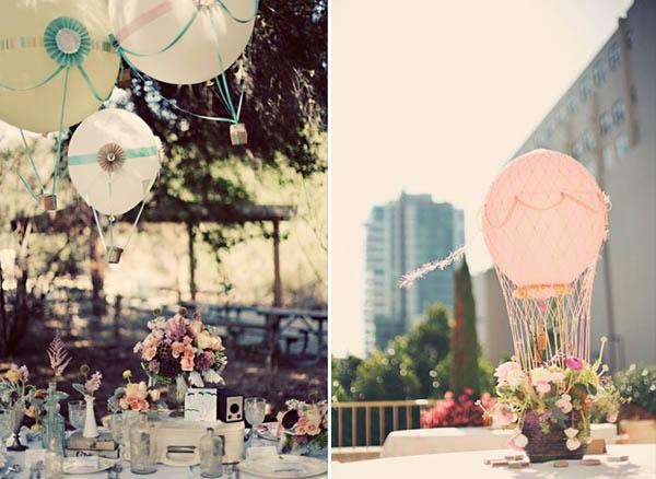 palloncini mongolfiere