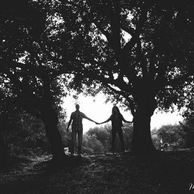 Un'engagement session tra le antiche rovine romane: Maura e Andrea