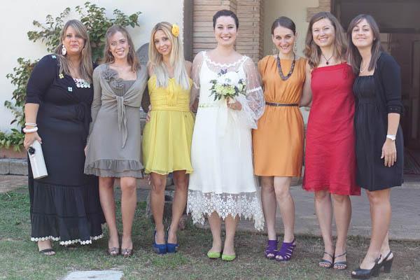 Matrimonio Country Chic Abbigliamento Invitati : Un matrimonio country chic e una sposa con le ballerine