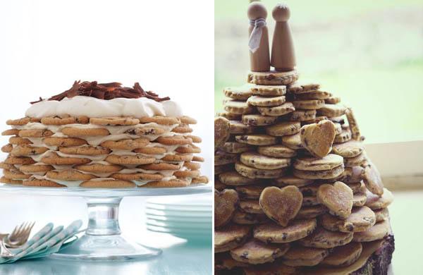 alternative alla torta nuziale: biscotti