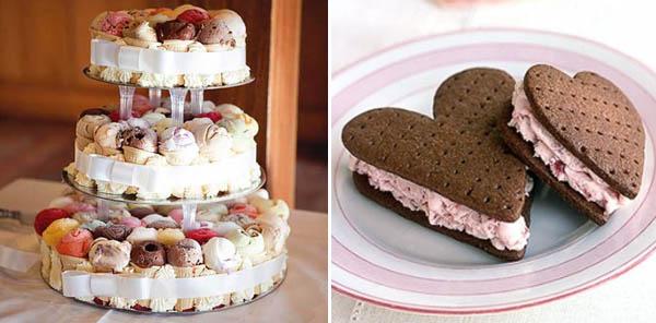 alternative alla torta nuziale: gelato
