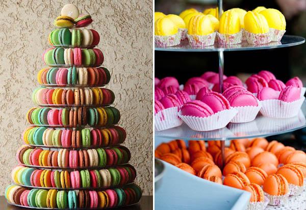 alternative alla torta nuziale: macarons
