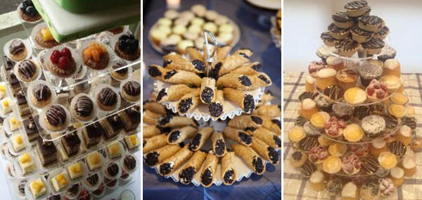 alternative alla torta nuziale: paste
