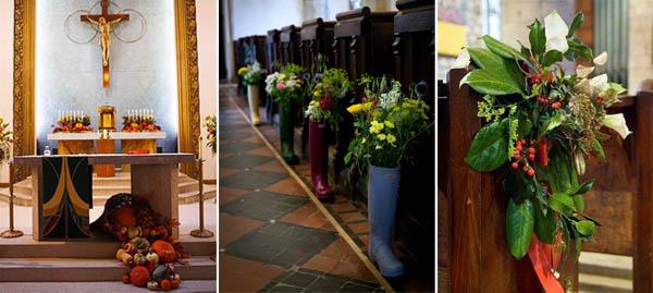 decorazioni chiesa stagionali