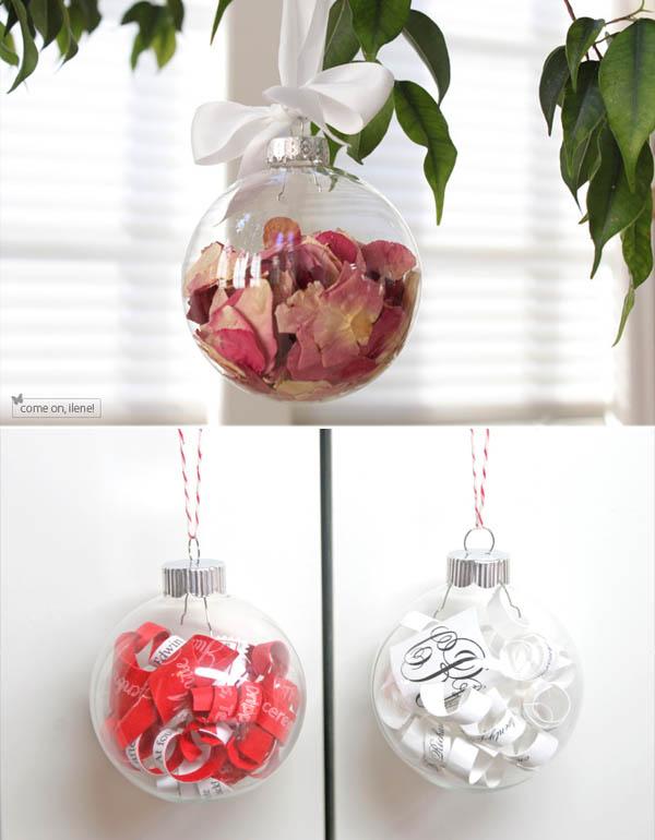 Partecipazioni Matrimonio Natalizio : Idee da copiare ornamenti natalizi con i ricordi del