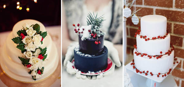 matrimonio a natale torte