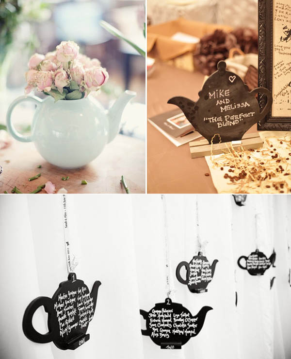 Matrimoni a tema: tè e caffè (1)