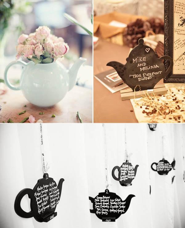 Matrimonio Tema Tè : Matrimonio a tema tè e caffè