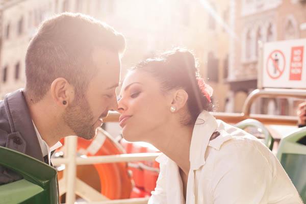 Un elopement a Venezia: Efi e Gianni