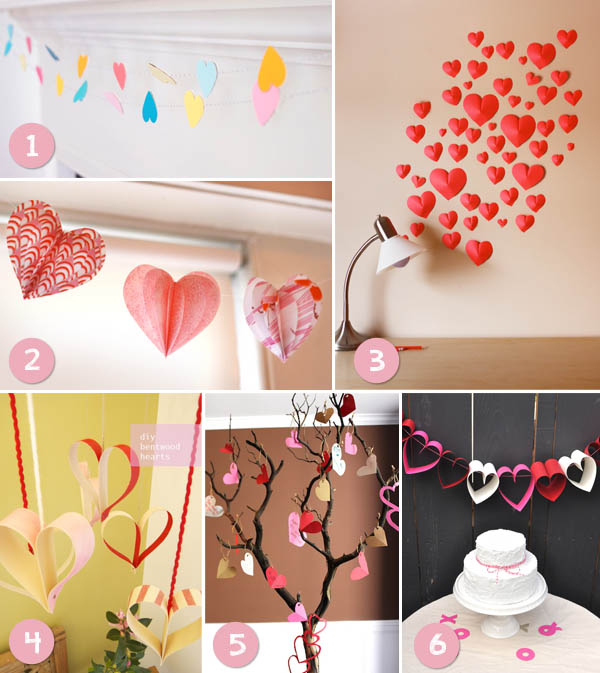Diy idee per san valentino wedding wonderland for Decorazioni san valentino fai da te