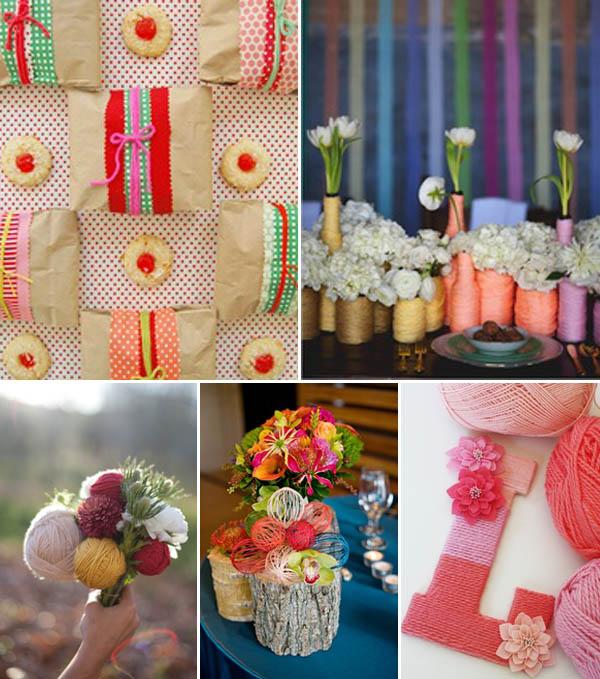 matrimonio cucito lana