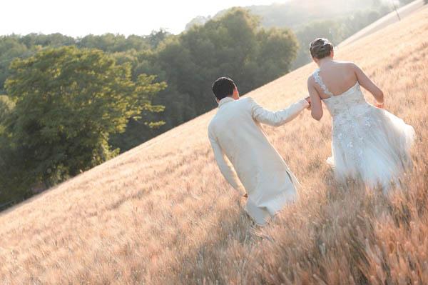 uno sposo indiano e una sposa in abito corto - aberrazioni cromatiche-23