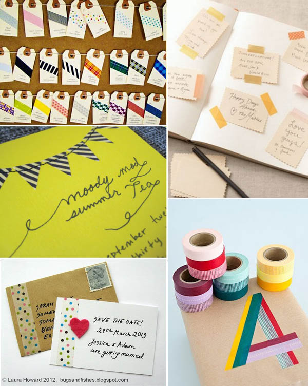 washi tape stationery