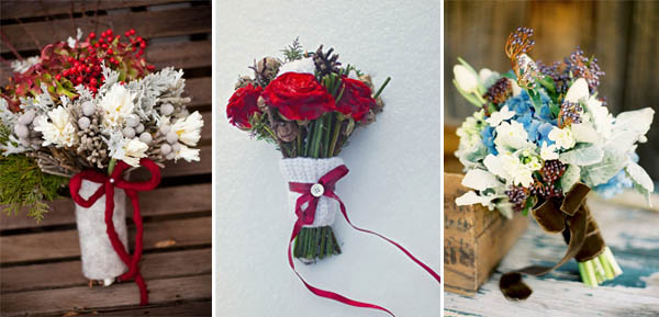bouquet manico invernale