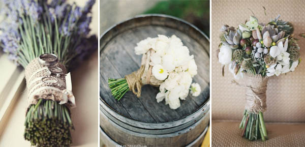 bouquet manico rustico