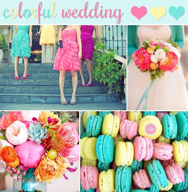 Matrimonio Azzurro E Rosa : Inspiration board un matrimonio colorato in rosa
