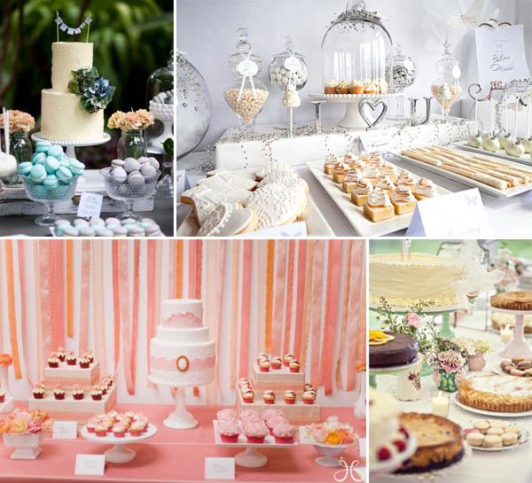 dessert table allestimento