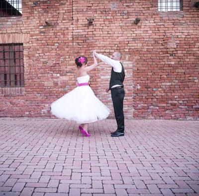 Un matrimonio fucsia tra shabby e moderno: Sara e Dario