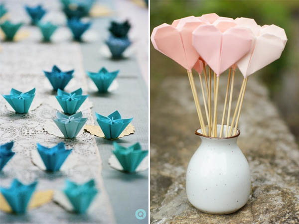 wedding obsessions origami