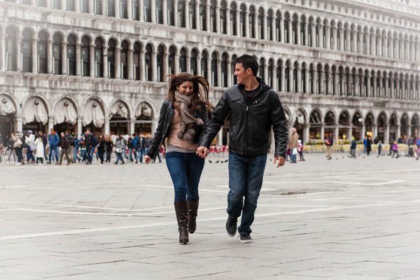 Una proposta di matrimonio a Venezia: Heather e Thomas