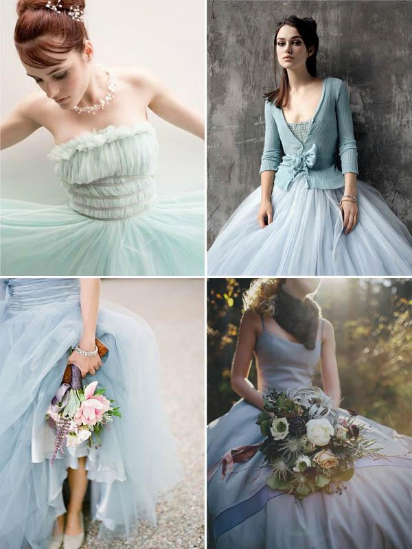 abiti da sposa azzurri