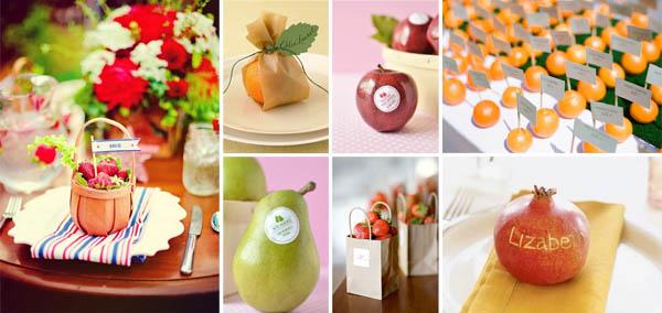 Decorazioni con frutta per il matrimonio - Decorazioni con frutta essiccata ...