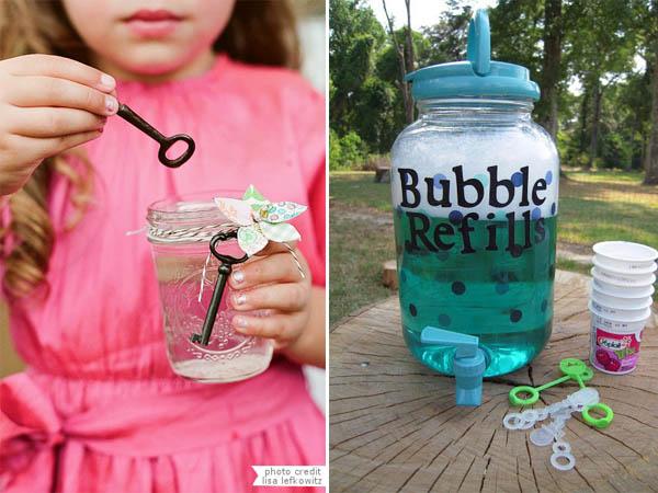 intrattenimento bambini bolle di sapone