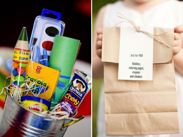 intrattenimento bambini goodie bag