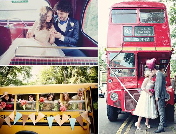matrimonio in autobus