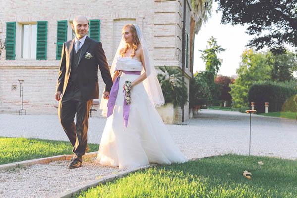 Matrimonio Tema Elegante : Un matrimonio lilla a tema ulivo elisa e filippo