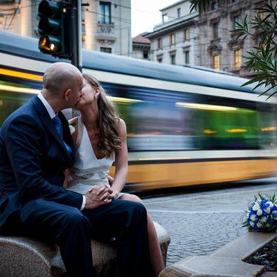 Un matrimonio intimo a Milano: Elena e Daniele
