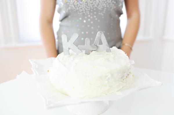 cake topper lettere tridimensionali